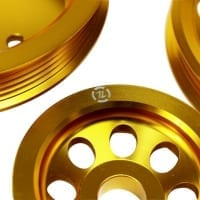 ISR Performance LIGHT WEIGHT PULLEY KIT – GOLD – SR20DET S13