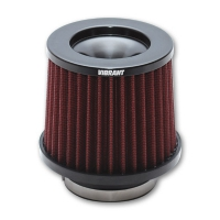 Vibrant THE CLASSIC Performance Air Filter (3.5″ inlet diameter)