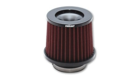 Vibrant THE CLASSIC Performance Air Filter (4″ inlet diameter)