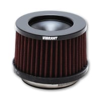 Vibrant THE CLASSIC Performance Air Filter (3″ inlet ID, 3-5/8″ Filter Height)