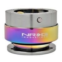 NRG Quick Release – Gun Metal Body/Neo-Chrome Ring