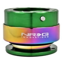 NRG Quick Release – Green Body/Neo-Chrome Ring