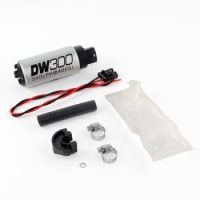 Deatschwerks DW300 340lph in-tank fuel pump w/ install kit for Nissan 240sx S14/S15 1994-2002