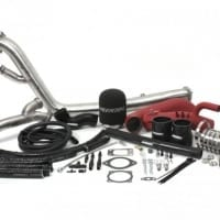 PERRIN Rotated Tuner Kit for EFR Turbo T3 Inlet 08-14 WRX/STI Red