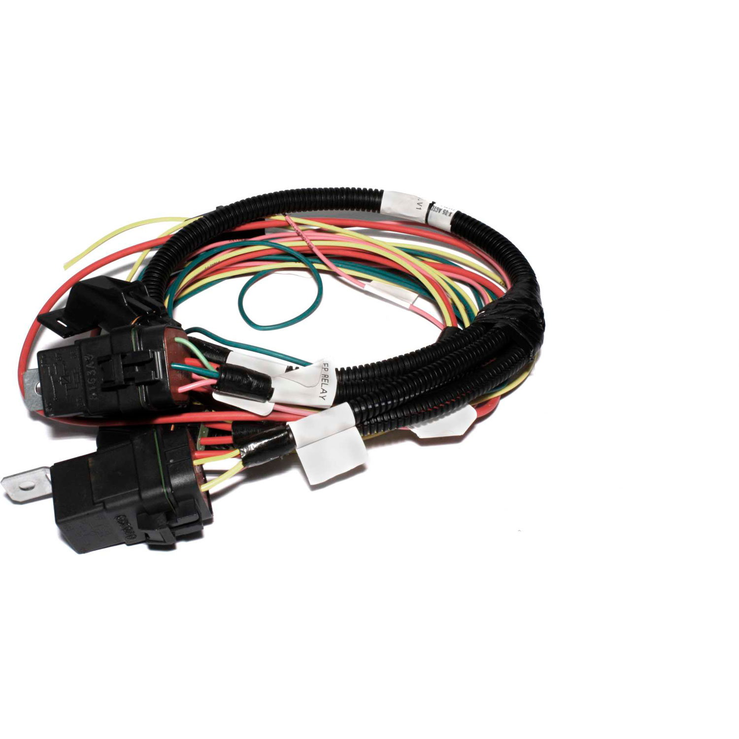 Quick Car Wiring Harness : Fast wiring harness gm fan and fuel pump