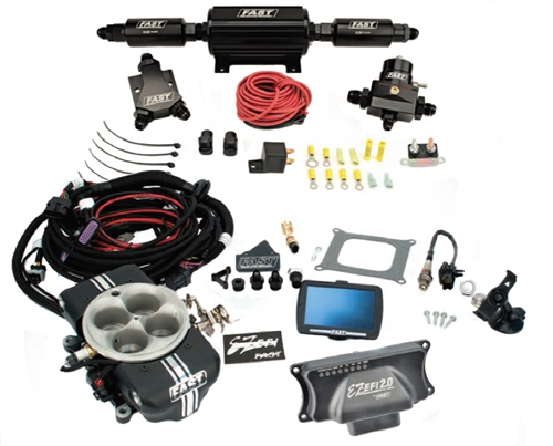 FAST FAST EZ-EFI 2 0 Self-Tuning Fuel Injection System Master  High-Horsepower Kit with Inline Fuel Pump (30403-KIT)
