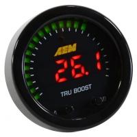 AEM X-Series Tru-Boost Controller Gauge w/ Boost Control Solenoid 80PSIg Internal MAP Sensor | 30-0352