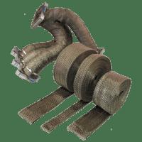 PTP Turbo Blankets Lava Exhaust Heat Wrap (2″ x 50′) – FPRO35-LW2-03