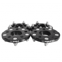 Noble Performance Conversion Spacers 5×100 to 5×114.3 15mm CB: 56.1 Color: Black (Set of 4)