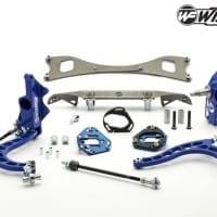 Wisefab Nissan S13 V2 Front Lock Kit w Rack Offset Spacers   WF130 OFF