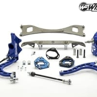 Wisefab Nissan S13 V2 Front Lock Kit w Rack Relocation | WF130 INS