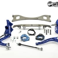 Wisefab Nissan S14 V2 Front Lock Kit w Rack Offset Spacers | WF140 OFF