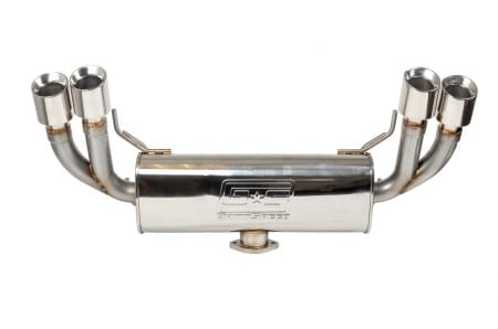 Grimspeed Catback Exhaust System – Un-Resonated – 11-14 WRX , 08-14 STI Hatchback
