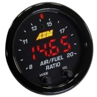 AEM X Series Wideband UEGO 4.9 AFR Sensor Gauge Kit