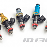 Injector Dynamics 1300cc Injectors – Supra Turbo (93-98) 2JZ-GTE (14mm) – 14mm **WITH RADIUM FUEL RAIL ONLY**