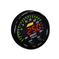 AEM X-SERIES BOOST PRESSURE DISPLAY GAUGE -30IN/HG~35PSI / -1~2.5BAR