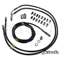 GKTech 2 Pot Standalone Stainless Brake Line Kit