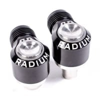Radium 10AN Male Swivel Banjo Press-Fit Fittings for 1JZ / 2JZ Valve Covers