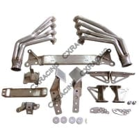 CX Racing LS1 Swap Kit Torsion Bar Subframe Bracer Sway Bar Header for Mazda RX-8