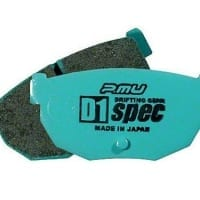 Project Mu 89-98 Nissan 240sx D1 SPEC Rear Brake Pads