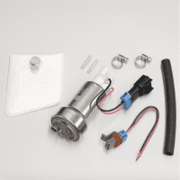 Walbro 450LPH Fuel Pump High Pressure F90000267 (Universal E85 Ethanol) w/400-1162/8 Full Install Kit
