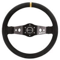 Sparco R 215 Competition Black Suede Steering Wheel 350mm