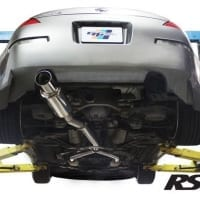 GReddy 03-08 Nissan 350z Revolution RS Exhaust (SS Y-Pipe Not Incl.)