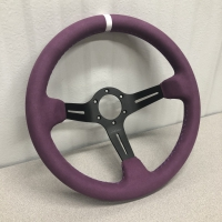 DND Performance 350MM Full Colored Alcantara Wheel – Purple