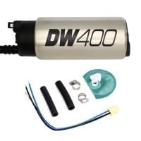 Deatschwerks DW400 415lph in-tank fuel pump w /Universal Install Kit. Fits Most