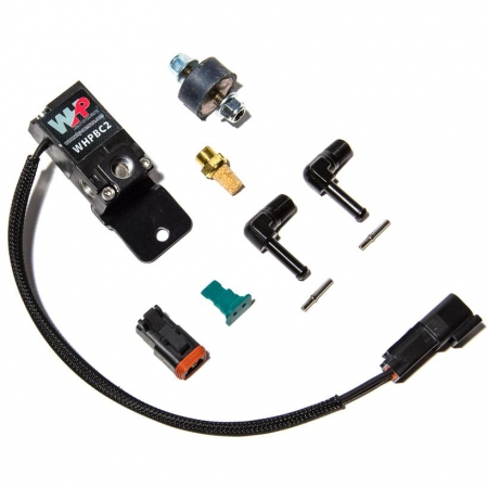 ECU Master / WHP Boost Control Solenoid Kit- Black Fittings and Bracket