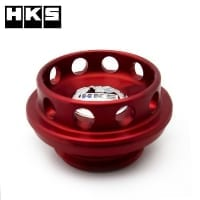 HKS Billet Oil Filler Cap | Nissan / Honda (RED)