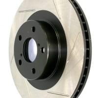 StopTech Left Rear Power Slot Slotted Rotor for 5 Lug 240SX