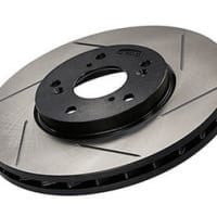 StopTech Front Right Sport Slotted Brake Rotor for 1990 300ZX Z32 (26mm)