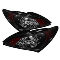 Spyder Black LED Tail Lights for Hyundai Genesis Coupe 2010-2012