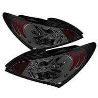 Spyder Smoke LED Tail Lights for Hyundai Genesis Coupe 2010-2012