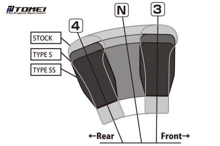 Tomei Duracon Shift Knob Type-SS M12-P1.25 60mm