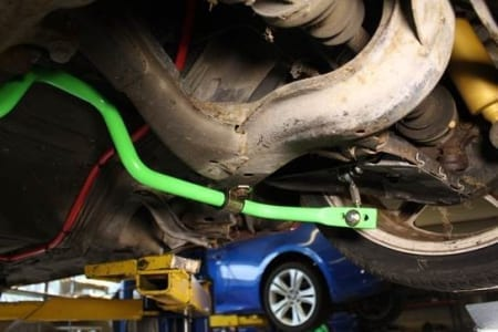 Sikky Nissan 240sx S13 Rear Sway Bar w/ Endlinks