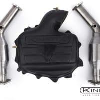 Kinetix Plenum / High Flow Cat COMBO 350Z/G35 03-05