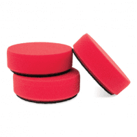 Griots Garage 3in Red Waxing Pads (Set of 3)