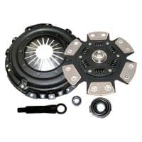 "Comp Clutch ""White Bunny"" 6 Puck Disc Upgrade Kit – 91-98 Nissan 240sx KA24DE"