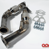 AAM Competition 370Z 2.5″ Resonated Test Pipes
