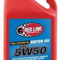 Red Line 5W50 Motor Oil – Gallon