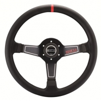 Sparco L575 Monza Leather Steering Wheel