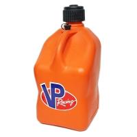 VP Racing Fuel 5 GALLON SQUARE MOTORSPORT CONTAINER ORANGE