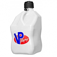 VP Racing Fuel 3 GALLON SQUARE MOTORSPORT CONTAINER WHITE