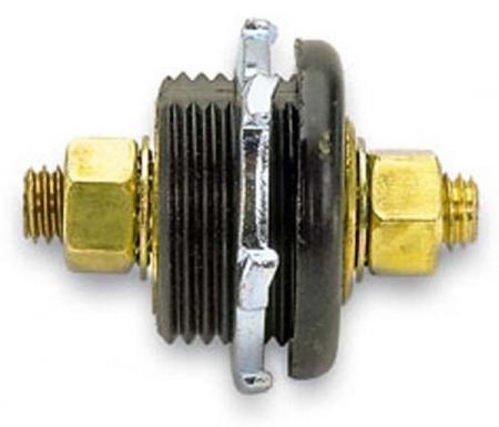 Moroso Black Thru Panel Connector – 74145