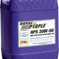Royal Purple HPS Multi-Grade Motor Oil; 20W50 – 5 Gal Pail