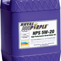 Royal Purple HPS Multi-Grade Motor Oil; 5W20 – 5 Gal Pail