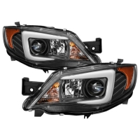 Spyder Projector Headlights for Subaru Impreza WRX 2008-2014 – Xenon/HID Model Only ( Not Compatible With Halogen Model ) – Light Bar DRL – Black