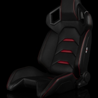 Braum Alpha X Racing Seat (Pair)